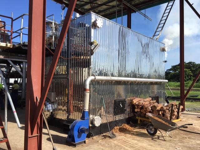 Wood Fired Boiler