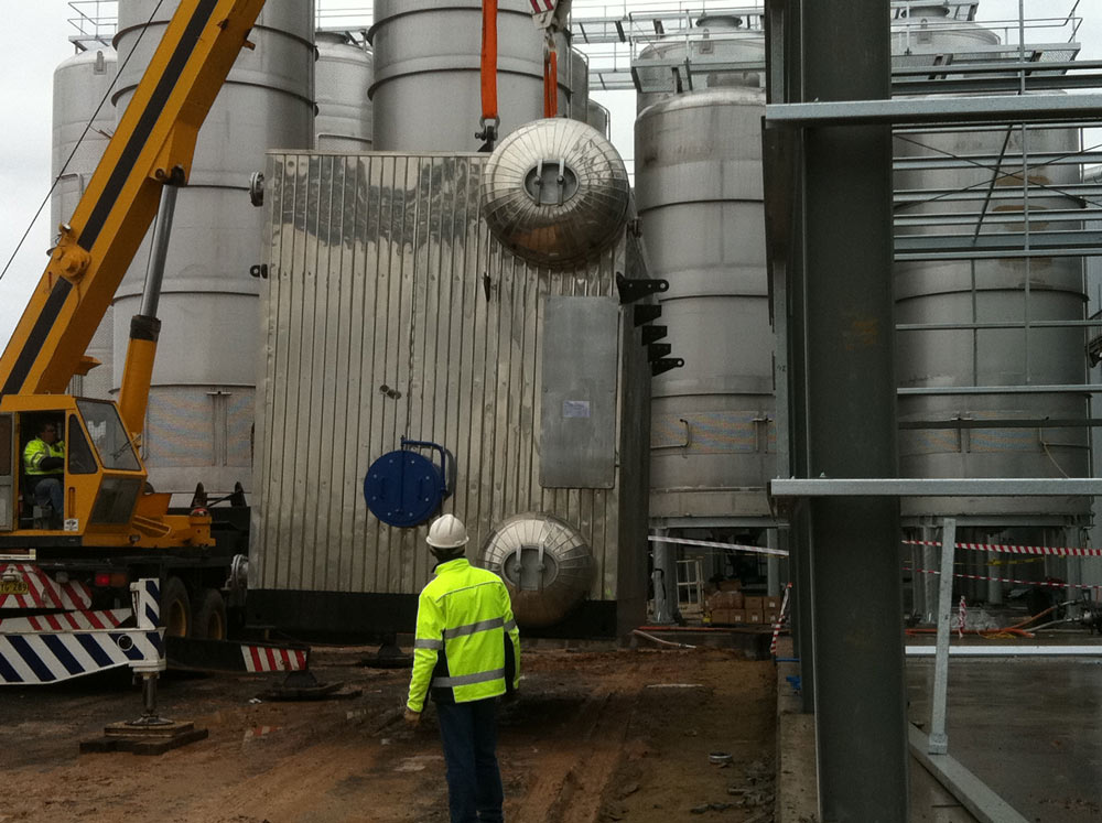 8MW Water Tube Boiler