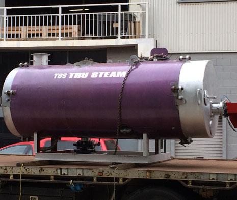 35HP Fire Tube Boiler