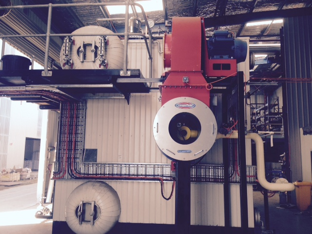 12MW Water Tube Boiler Installation